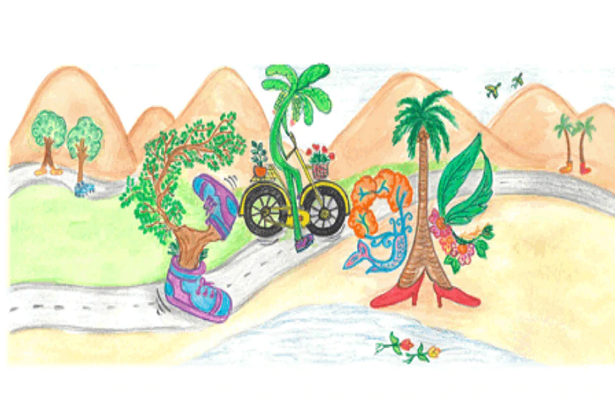 Happy Children's Day 2019: Google celebrates Children's Day with a doodle, set to declare doodle for google winners today
