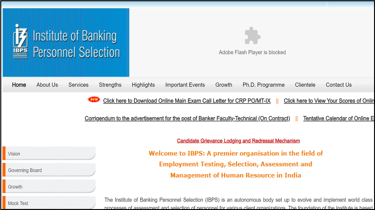 IBPS PO Main Admit Card 2019 released, check how to download