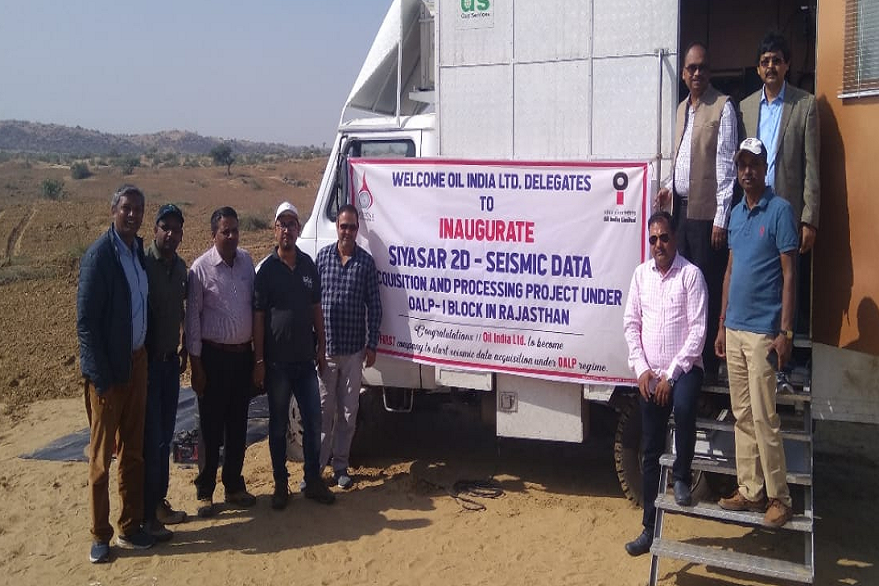 Oil India Limited begins vibroseis seismic operations in Rajasthan