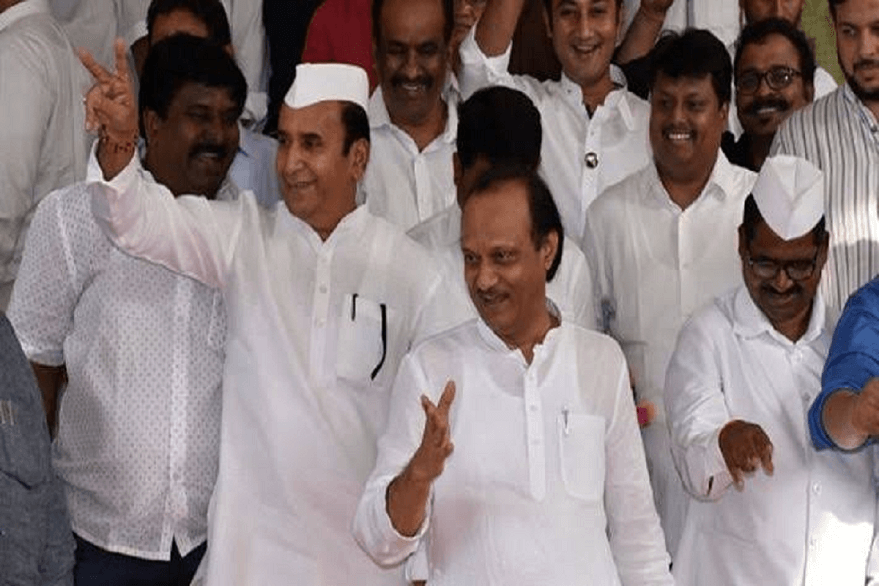 Maharashtra cabinet expansion: Ajit Pawar takes oath as deputy CM, former CM Ashok Chavan also inducted into state cabinet
