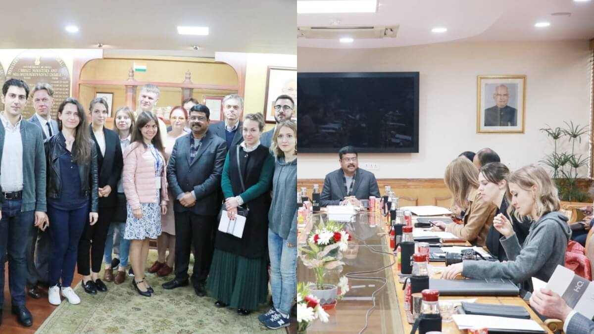 India-Russia marked bilateral relations in year 2019-Dharmendra Pradhan
