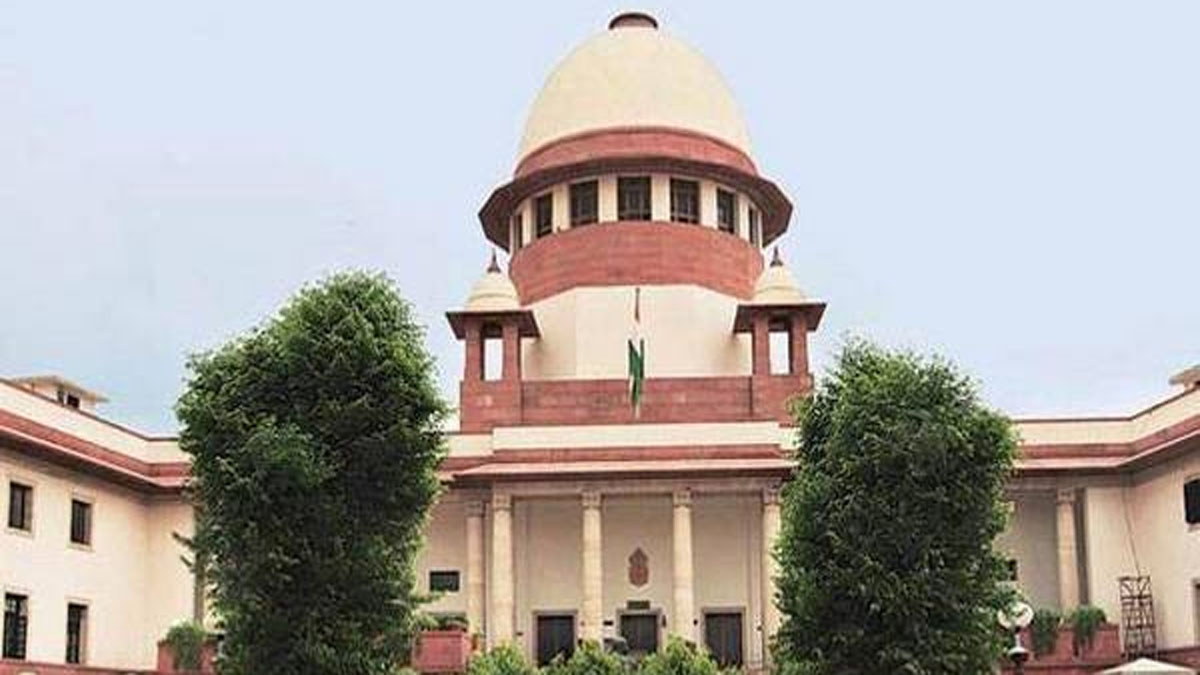 File photo of the Supreme Court of India.