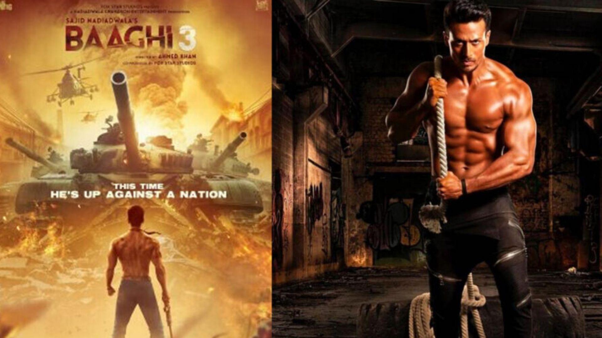 Baaghi 3 Trailer making