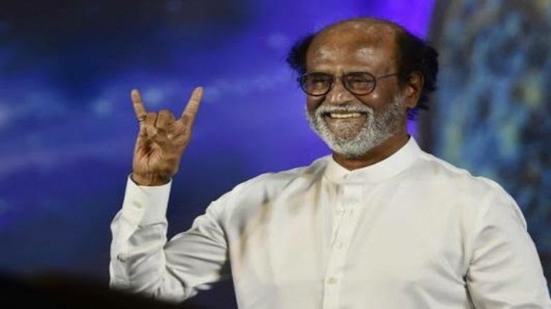 Rajinikanth says the same old thing, will enter politics when people want him to, says Tamil Nadu needs young blood