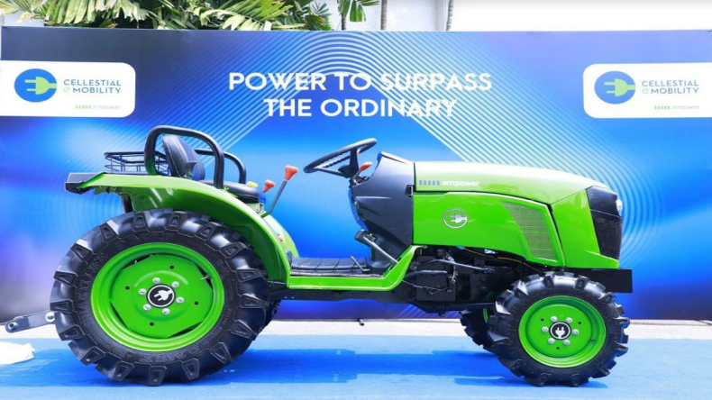 First e-tractor for farming and factory purpose launched in Hyderabad