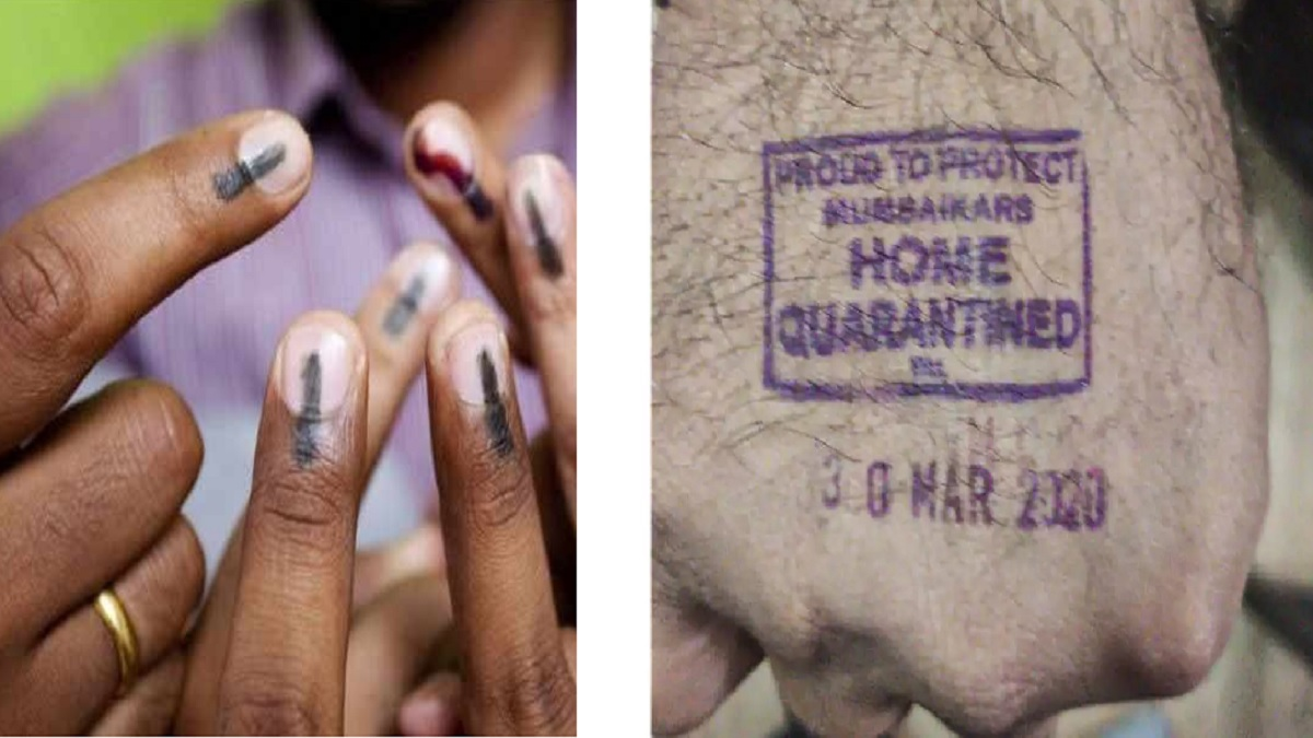 EC permits usage of indelible ink for stamping home quarantine mark