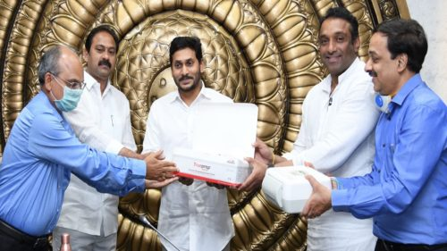 Andhra Pradesh CM YS Jagan Mohan Reddy launches indigenous test kits