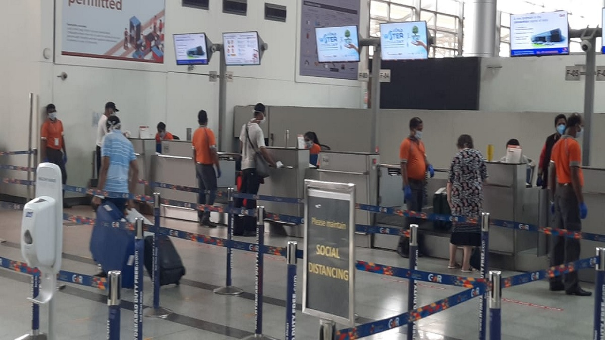 Hyderabad international airport handles US special flight for its citizens