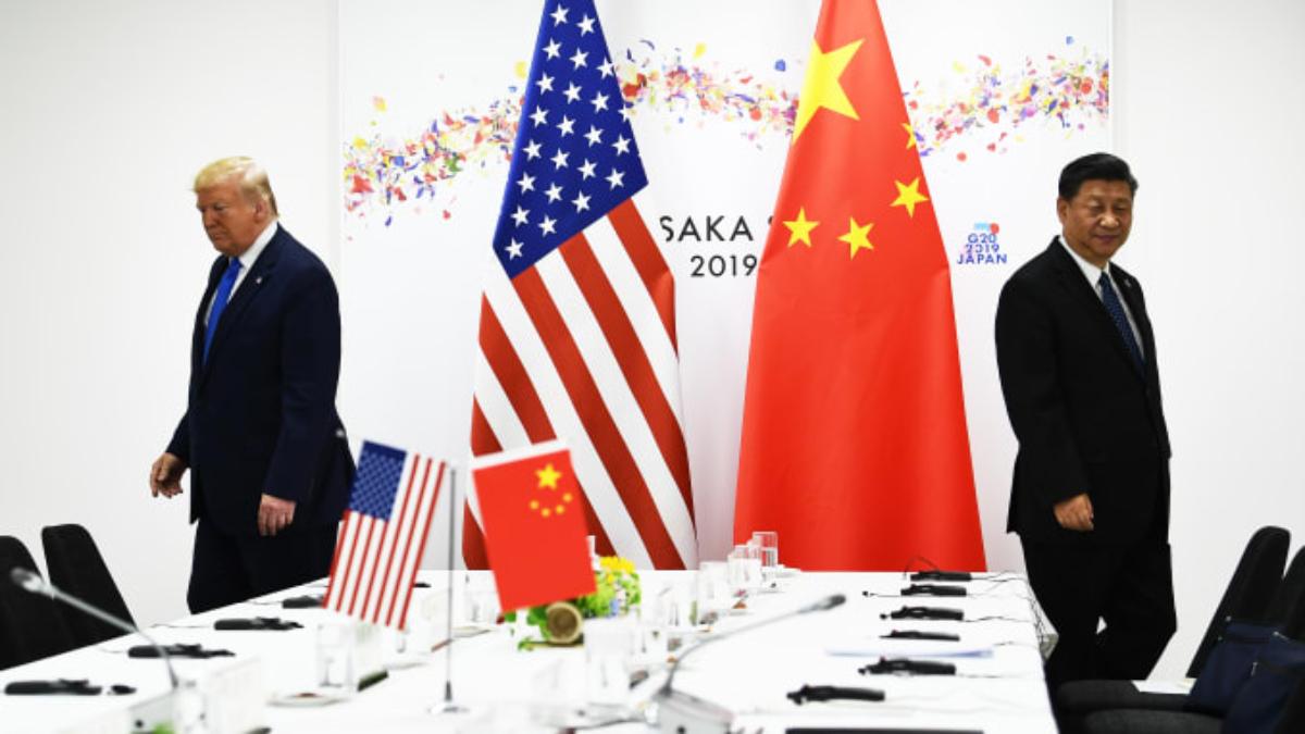 US-China hostility