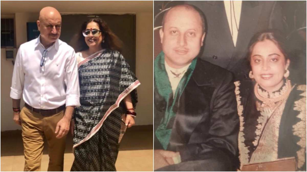 Anupam Kher sends birthday wishes to wife Kirron