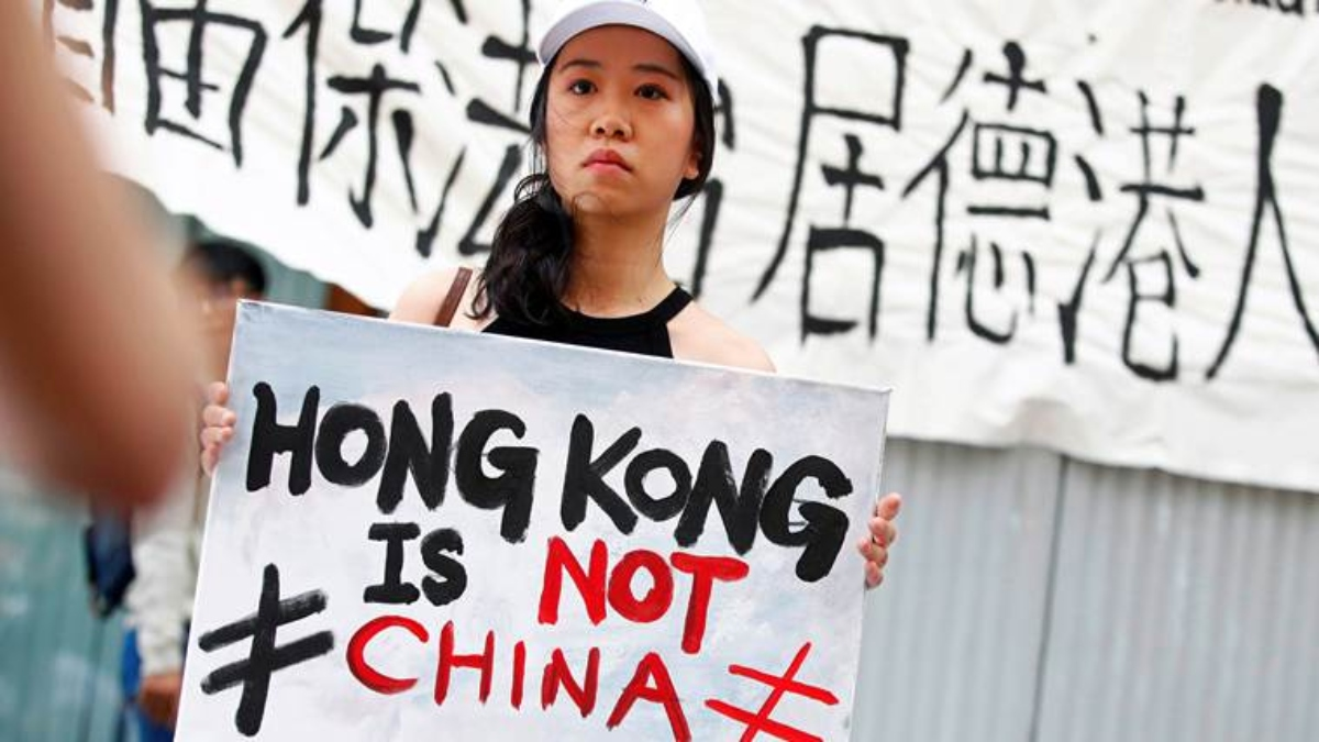 Protests happening all over Hong Kong against Chinese Dominion