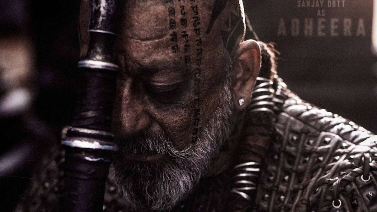 KGF Chapter 2: New poster of Sanjay Dutt's character ...