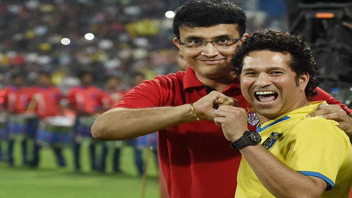 Sachin Tendulkar never took strike on first ball: Sourav Ganguly