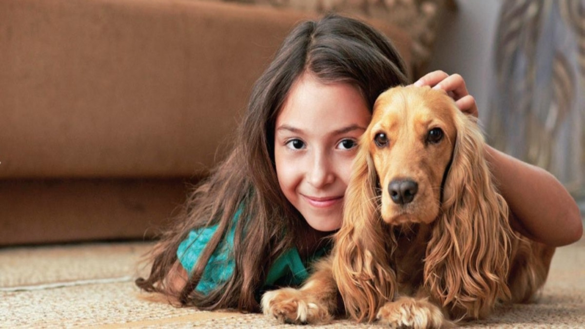 Children who grow up with dogs are better adjusted