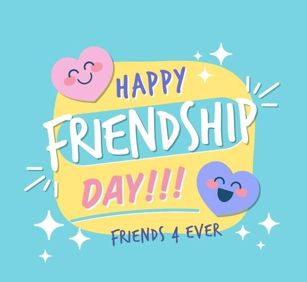 happy friendship day 2020 card images hd pictures