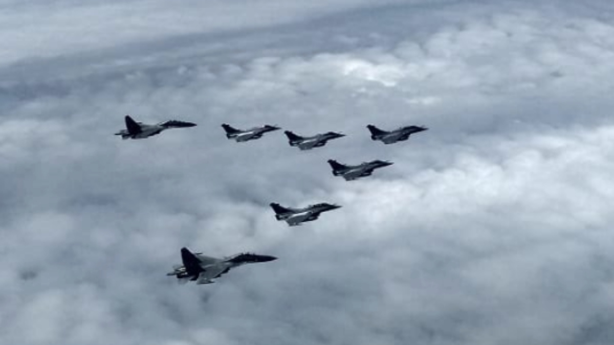 Rafale fighter jets enter Indian air space