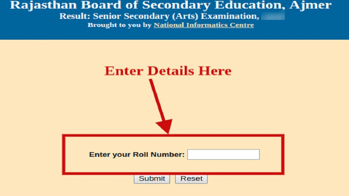RBSE Result 2020 to be declared tommorow