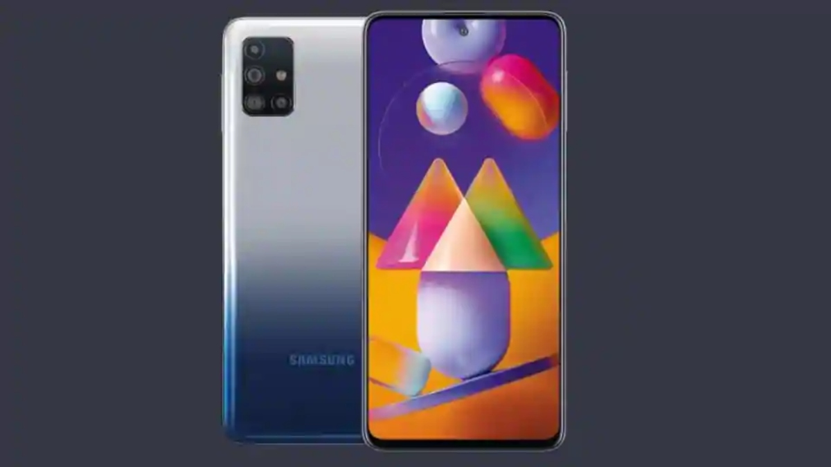 Samsung M31s official poster