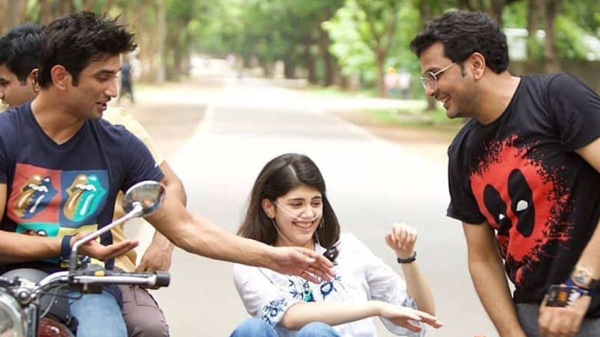 Ahead of Dil Bechara release, Sanjana Sanghi shares BTS photos from sets