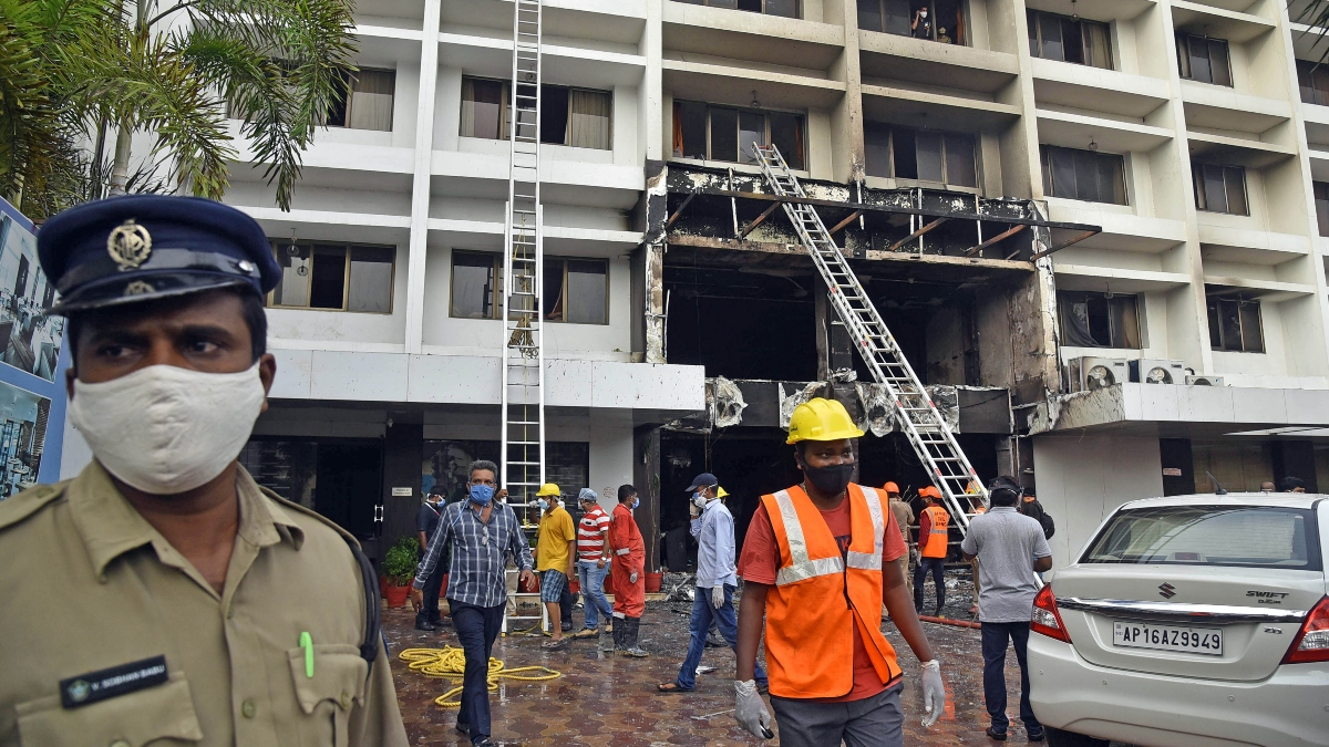 Three arrested in Vijayawada fire accident, booked under Section 304 of IPC