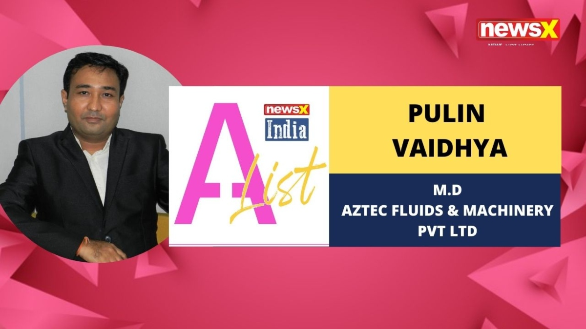 Mr Pulin Vaidhya, Managing Director of Aztec Group, Fluids and Machinery