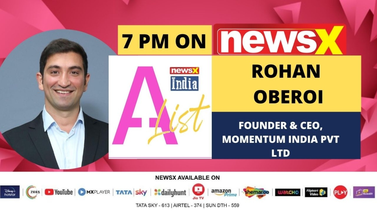 Rohan Oberoi, Founder & CEO, Momentum India on making India safer during pandemic with 'unconventional disinfection method'