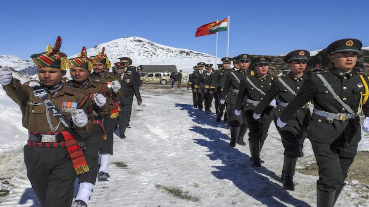 India-China Soldiers