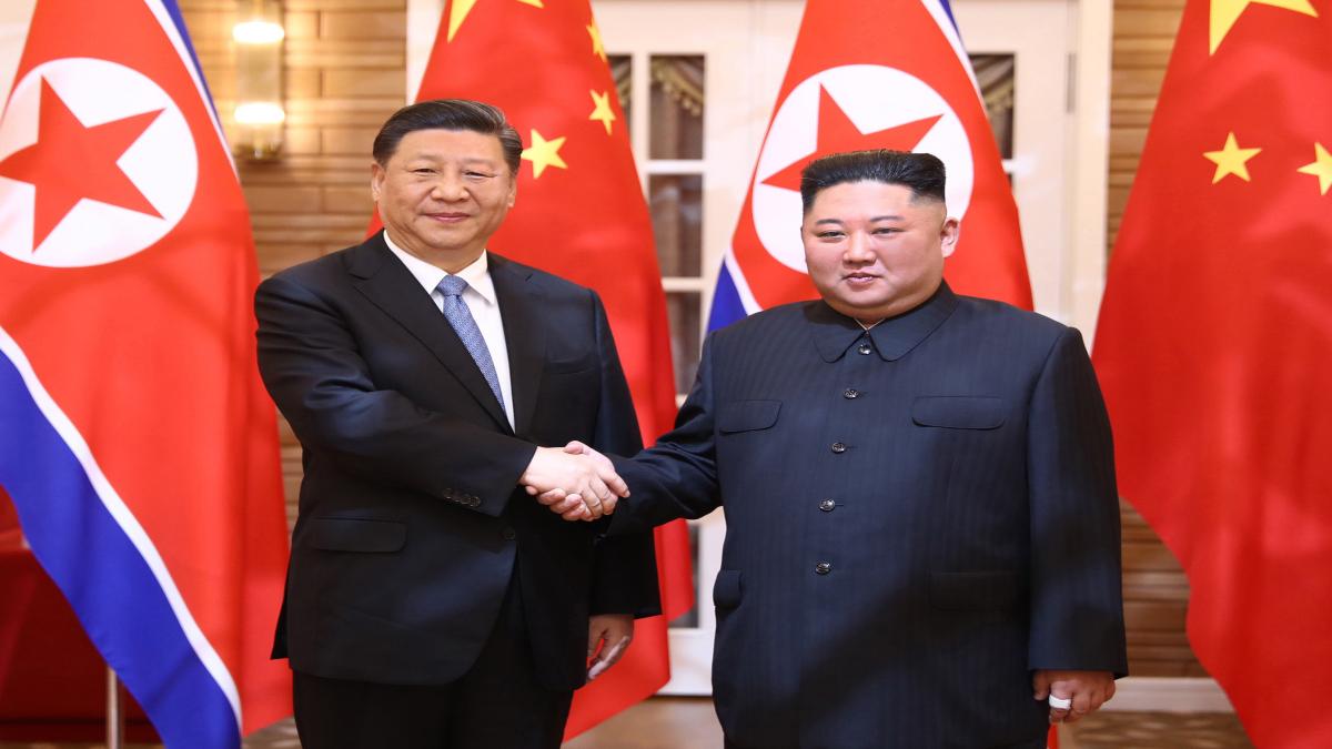 Kim Jong-un; Xi Jinping