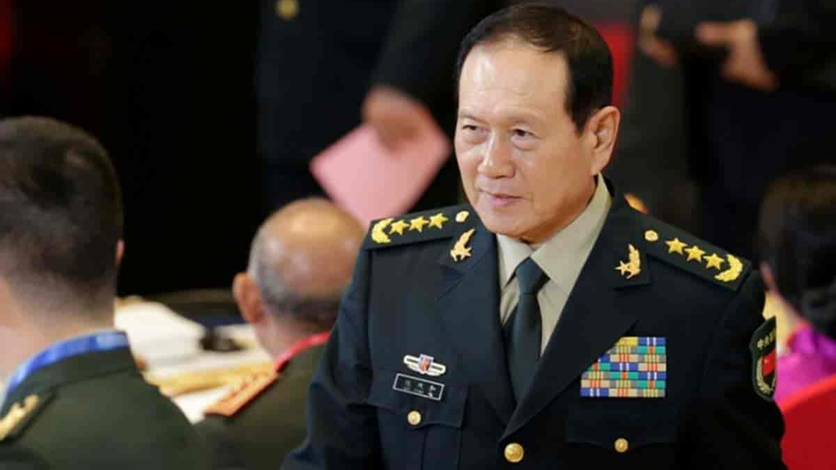 Defence Minister Wei Fenghe