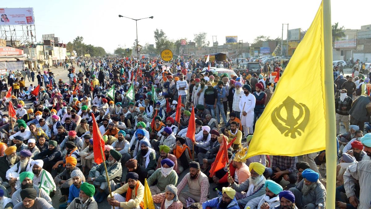 'Delhi Chalo' protest