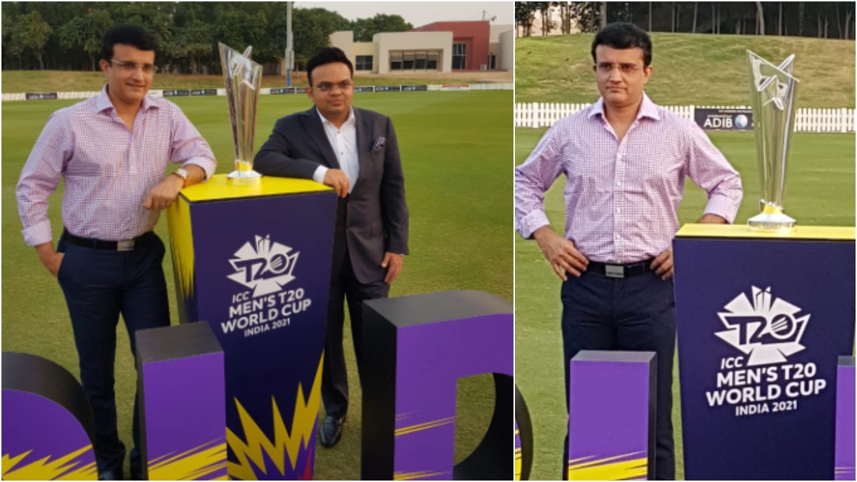 Countdown to 2021 T20 WC begins: Ganguly shares trophy's picture - NewsX