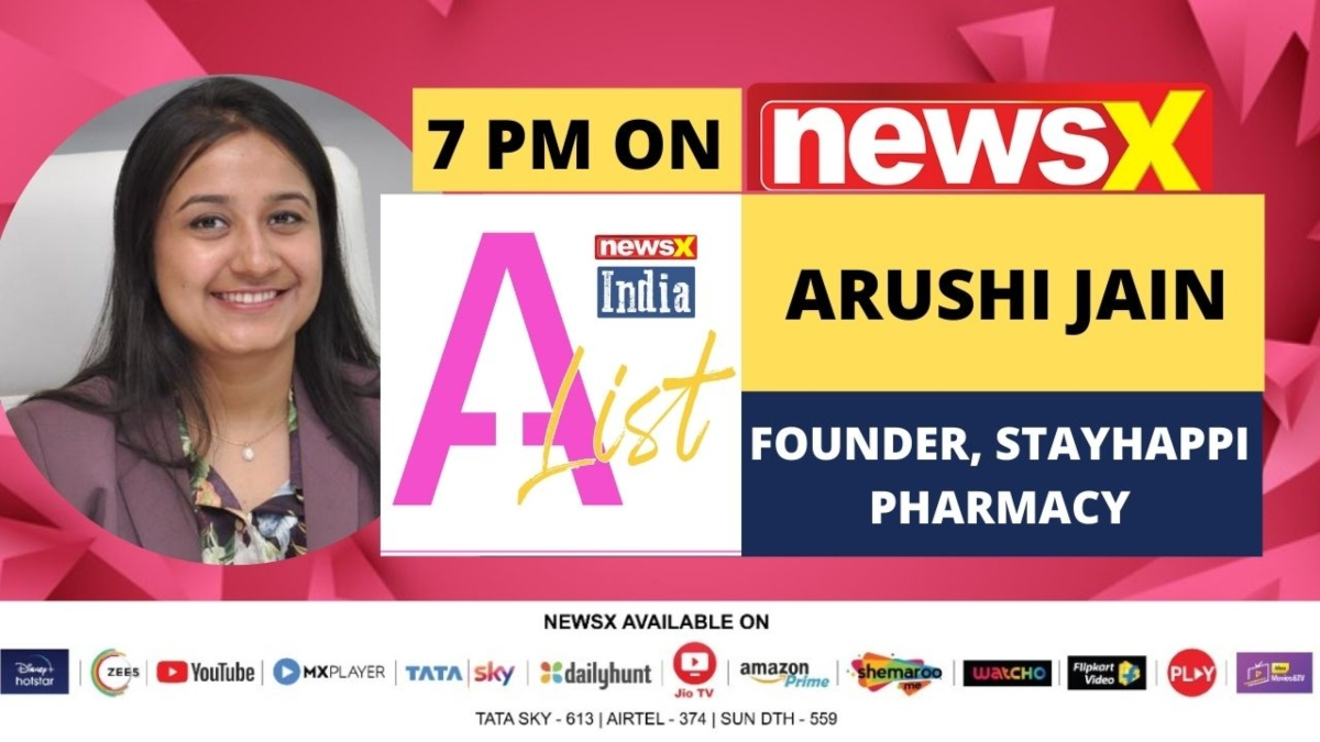 'India has immense potential when it comes to healthcare': Arushi Jain, Founder of Stayhappi Pharmacy