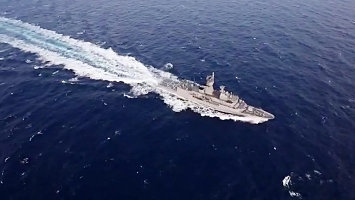 China launches two naval warships; including one for Pakistan