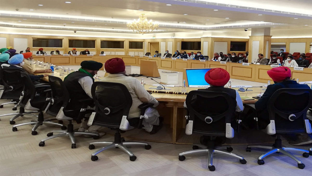 Deadlock over farm laws continues: 9th round of talks inconclusive, next meeting on Jan 19
