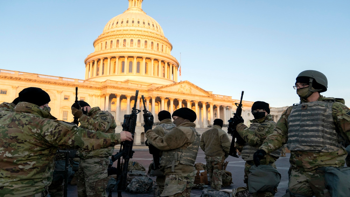 Security personnel vetted ahead of Biden's inauguration