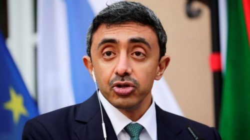 UAE Foreign Minister