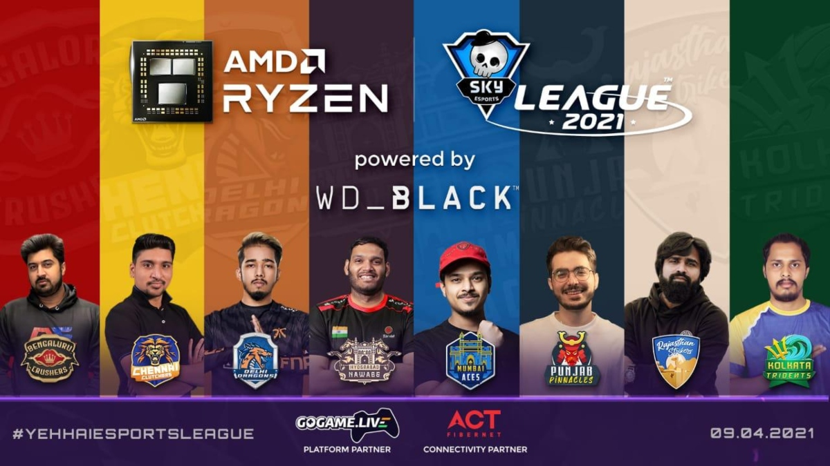 AMD Ryzen Skyesports League 2nd edition starts from April 9
