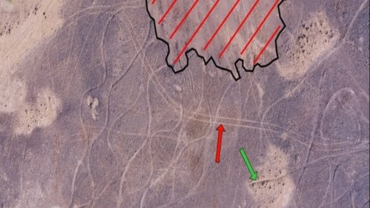 Enigmatic designs found in India's Thar Desert; Largest images ever made by human hands?