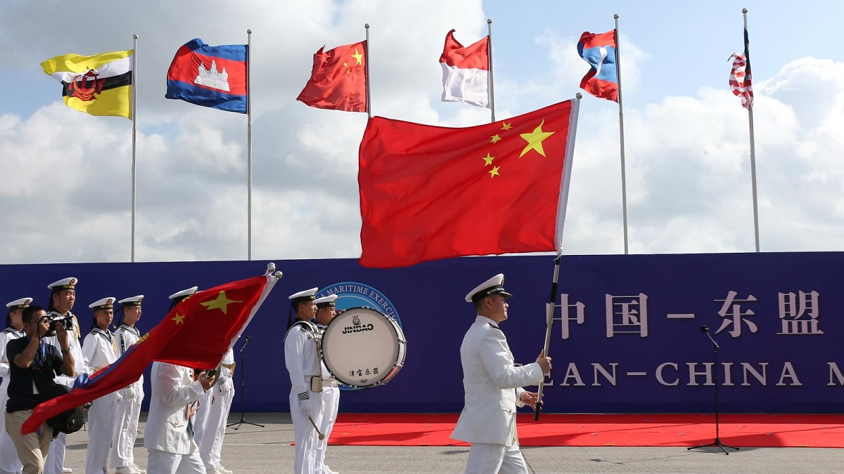 China hosts ASEAN nations; Attempt to rub against QUAD initiatives?
