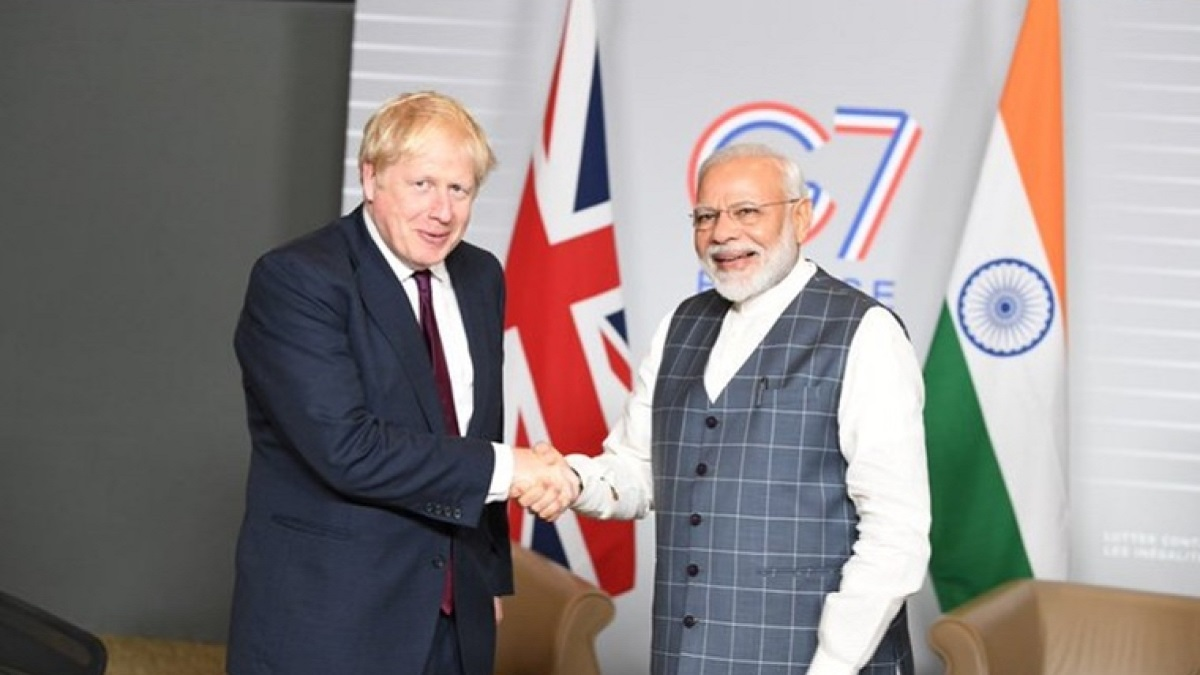 PM Modi to attend first session of G7 summit today