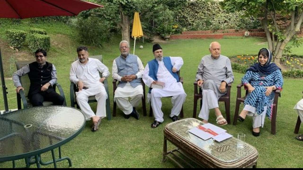 PM addresses J&K all-party meet today: 7 new seats is the scoop