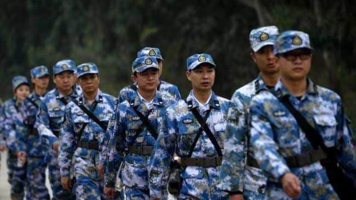 #LankaChinaUniforms: Chinese men in military uniform spotted; PLA soldiers in SL?