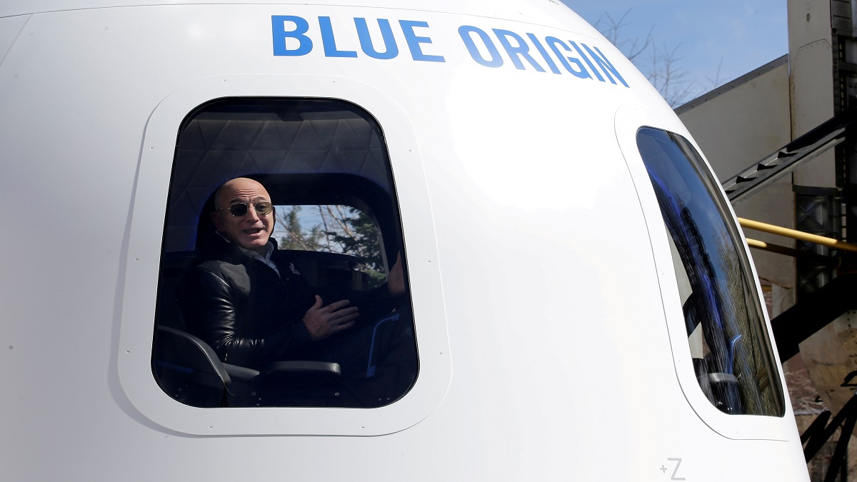 Bezos and crew to venture into further space dimensions