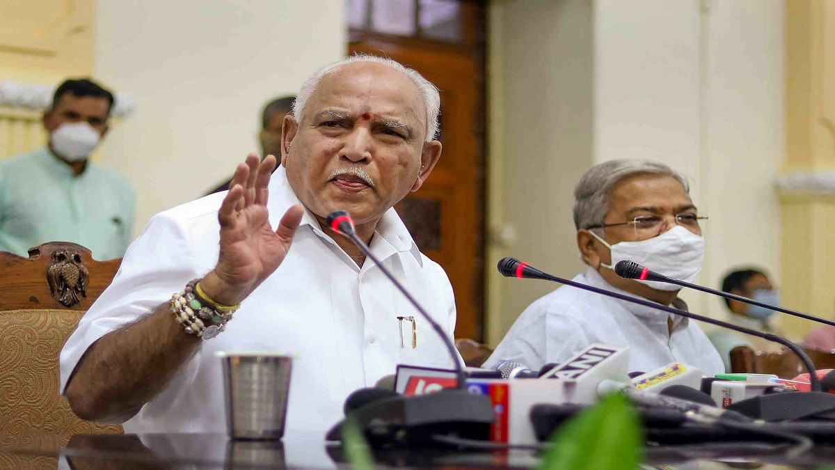 BSY to step down as K'taka CM on 26th July; BJP top Brass to decide Next CM