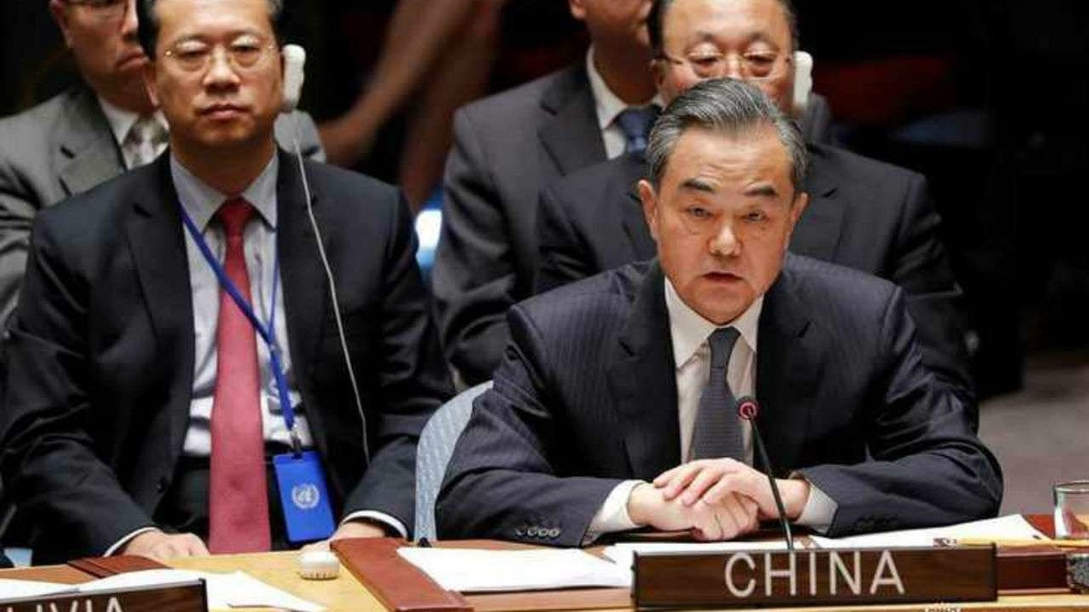 Chaos in Afghanistan directly related to disorderly withdrawal of foreign troops: China at UNSC