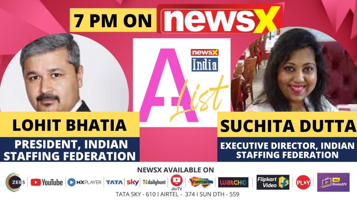Staffing in India is growing: Lohit Bhatia & Suchita Dutta