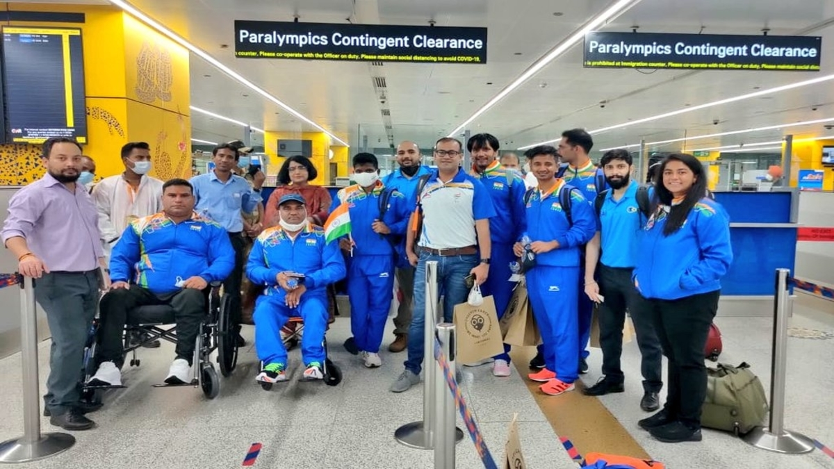 Indian contingent leaves for Tokyo Paralympics