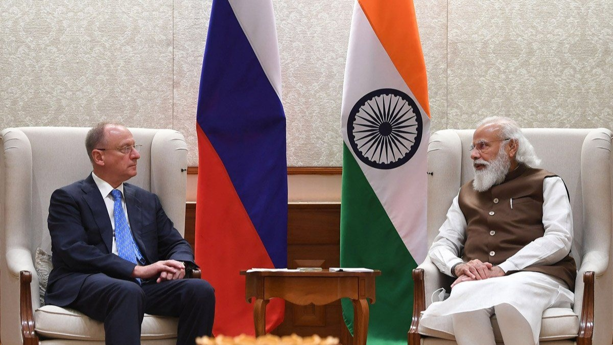 PM Modi meets Russian NSA, reaffirms intention to strengthen coordination on Afghanistan